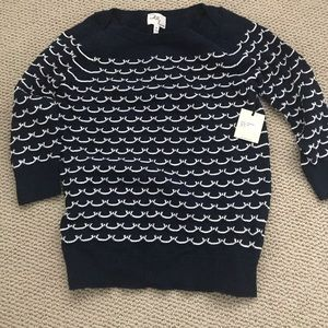 NWT Milly sweater size M